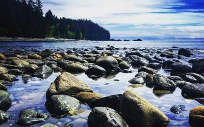 Sombrio Beach near Port Renfrew BC