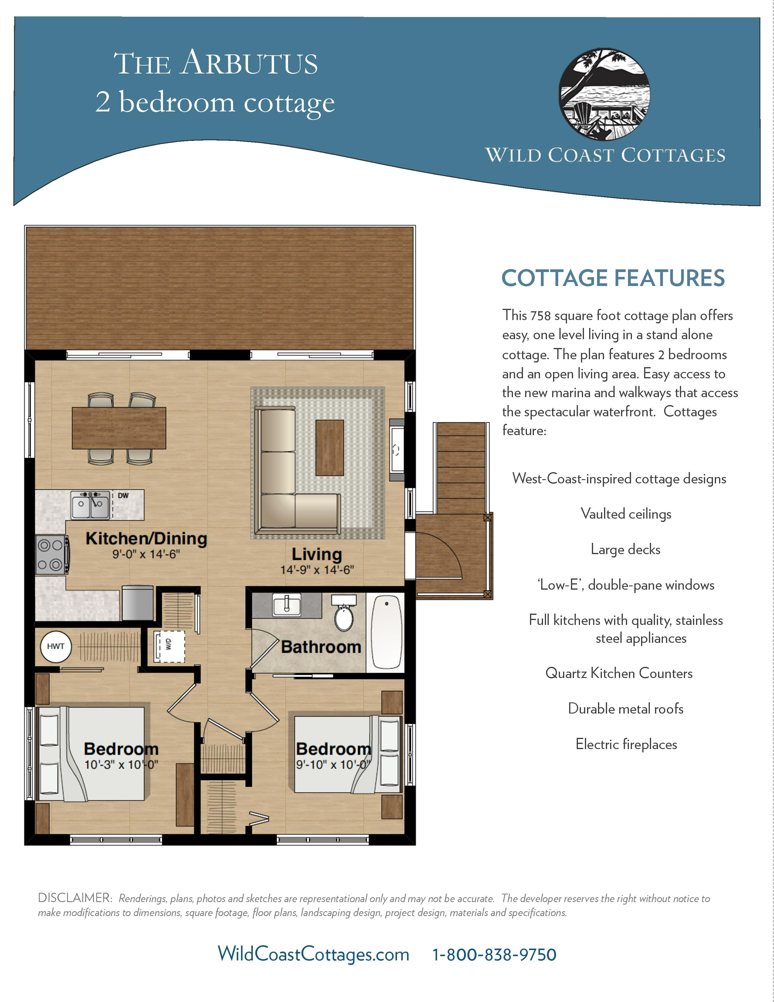 Arbutus floorplan